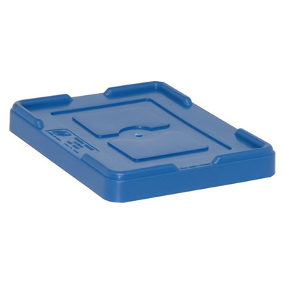 """Blue Cover for 10-7/8""""L x 8-1/4""""W Containers"""