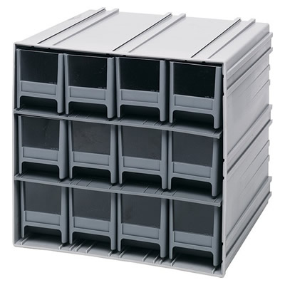 Interlocking Storage Cabinet w/12 IDR 202 Drawers