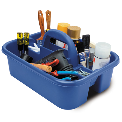 Blue Tote Caddy