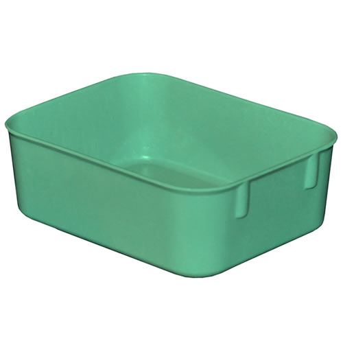 """12-3/8""""L x 9-3/4""""W x 2-1/8""""H Green Nesting Box"""