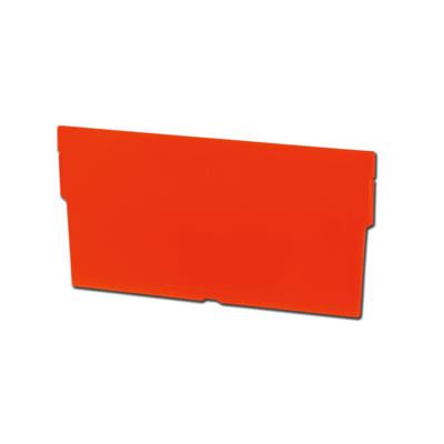 """Width Divider for 4-1/8"""" W x 4"""" Hgt. Bins - Orange"""