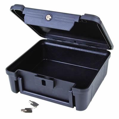 Secure Lock Open Core Black Case