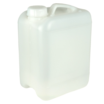 Natural 10 Liter Baritainers® Jerrican w/50mm Neck  (Cap Sold Separately)