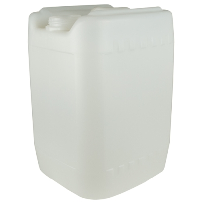 Natural 20 Liter Baritainer® Jerrican w/70mm Neck (Cap Sold Separately)