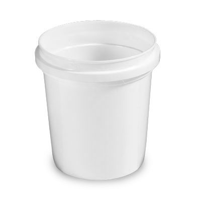 16 oz. HDPE Pryoff Container (Lid Sold Separately)