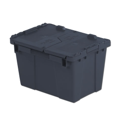 "15.2"" L x 10.9"" W x 9.7"" Hgt. Gray Security Shipper Container"