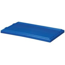 "Blue Cover for 19-1/2"" L x 15-1/2"" W Akro-Mils® Nest & Stack Containers"