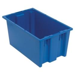 """18""""L x 11""""W x 9""""H Blue Quantum® Stack & Nest Tote"""
