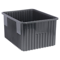 "Conductive Dividable Grid Container - 22-1/2"" L x 17-1/2"" W x 12"" Hgt."