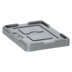 "Gray Cover for 10-7/8""L x 8-1/4""W Containers"