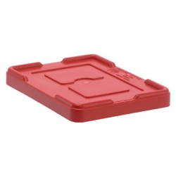 "Red Cover for 10-7/8""L x 8-1/4""W Containers"