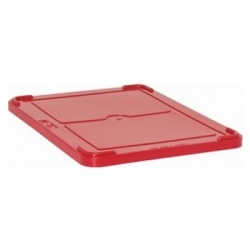 "Red Cover for 22-1/2"" L x 17-1/2"" W Containers"