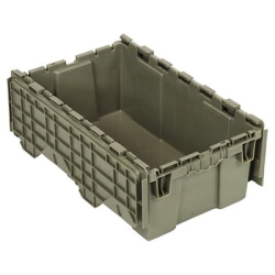 "20""L x 11-1/2""W x 7-1/2""H Heavy Duty Attached Top Container"