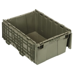 "21-1/2""L x 15-1/4""W x 9-5/8""H Heavy Duty Attached Top Container"