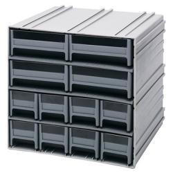 Interlocking Storage Cabinet w/8 IDR 201 & 4 IDR 203 Drawers