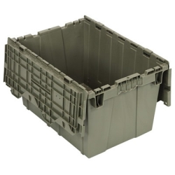 "21-1/2""L x 15-1/4""W x 12-3/4""H Heavy Duty Attached Top Container"
