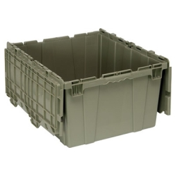 "24""L x 20""W x 12-1/2""H Heavy Duty Attached Top Container"