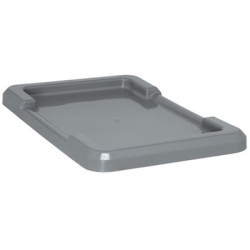 Gray Lid for Quantum ® Cross Stack Tubs