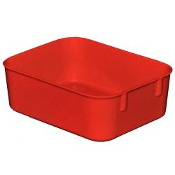 "6-1/8"" L x 4-7/8"" W x 2-1/8"" Hgt. Red Nesting Box"