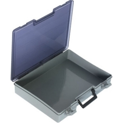 "Satchel-Style Case 1 Compartment 15-1/2"" L x 11-3/4"" W x 2-1/2"" Hgt."