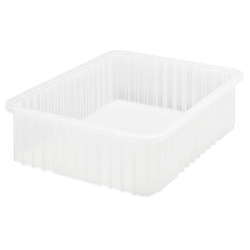 "Clear Dividable Grid Container - 22-1/2"" L x 17-1/2"" W x 6"" Hgt."