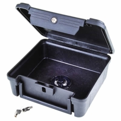 Secure Lock Open Core Black Case w/Lock Down