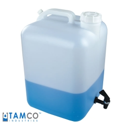 5 Gallon Fortpack Modified by Tamco ® with a Fast Draw Off Spigot