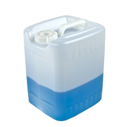 2.5 Gallon HDPE Stackable Container with 63mm Unvented Cap