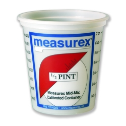 1/2 Pint(8 oz.) Polypropylene Measurex ® Container