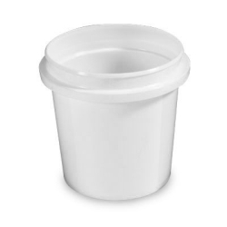 8 oz. HDPE Pryoff Container (Lid Sold Separately)