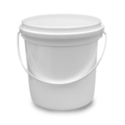 1 Gallon HDPE Pryoff Container w/Handle (Lid Sold Separately)