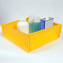 """48"""" L x 48"""" W UltraTech Spill Containment Ultra-Utility Tray ® Flexible Model"""