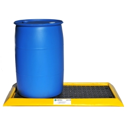 2-Drum Spillpal™ with 15 Gallon Capacity - 2' L x 4' W x 3