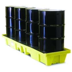 Low Profile In Line Poly Spillpallet™ 3000 with Drain