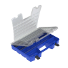 "Portable Dual Lid Organizer - 18.25"" L x 13.375"" W x 3.625"" Hgt."