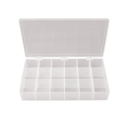 T-Series™ Polypropylene 18 Compartments Box