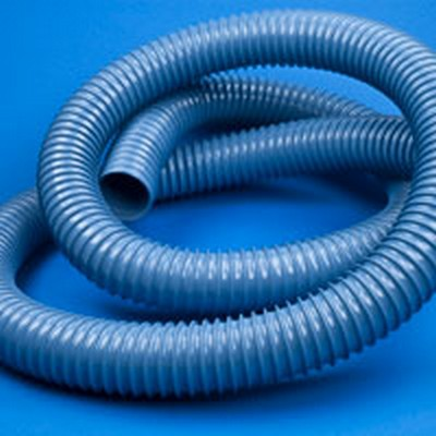 "2"" ID x 2.17"" Nominal OD Ductall® A1S Flexible Wire Reinforced Vinyl Vent Hose"
