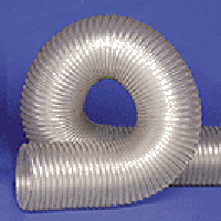 UFD.020 Clear Thermo Polyurethane Flexible Duct