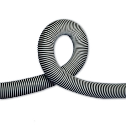 "6"" Thermoplastic Rubber Hose w/External Polypropylene Wearstrip"