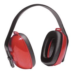 QM24+ ® Noise-Blocking Red Earmuffs
