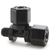 Parker Compression Male Run Tee Tube to Male NPTF Fittings