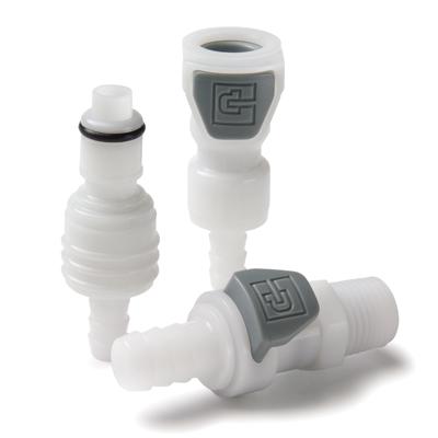 Parker® PPA Series Push Button Couplings