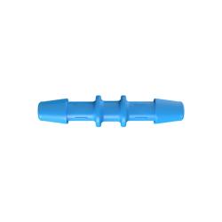 "3/16"" Eldon James™ Antimicrobial HDPE Coupler"