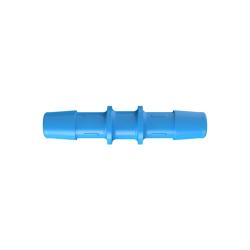 "3/8"" Eldon James™ Antimicrobial HDPE Coupler"