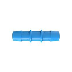 "5/8"" Eldon James™ Antimicrobial HDPE Coupler"