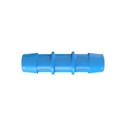 "3/4"" Eldon James™ Antimicrobial HDPE Coupler"
