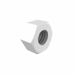 Natural Nylon Hex Nut for Panel Mount Adapters