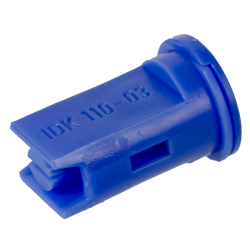 ISO Size 03 Blue 110° Compact Air Induction Flat Spray Nozzle