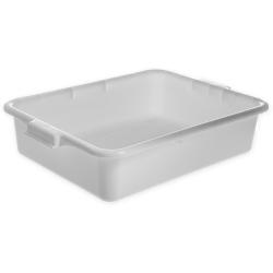 White Comfort Curve™ Tote/Bus Box - 20