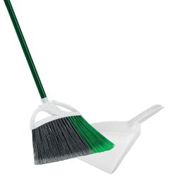 "13"" Libman ® Large Precision Angle ® Broom with Dust Pan"